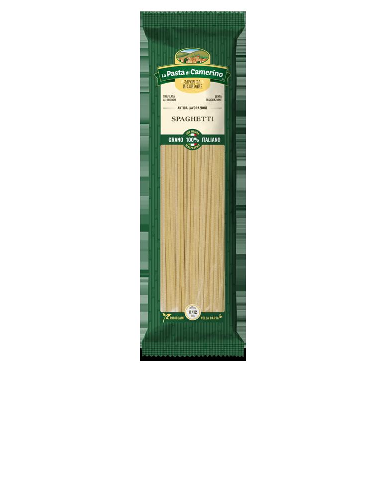 confezione da 500g di spaghetti di semola